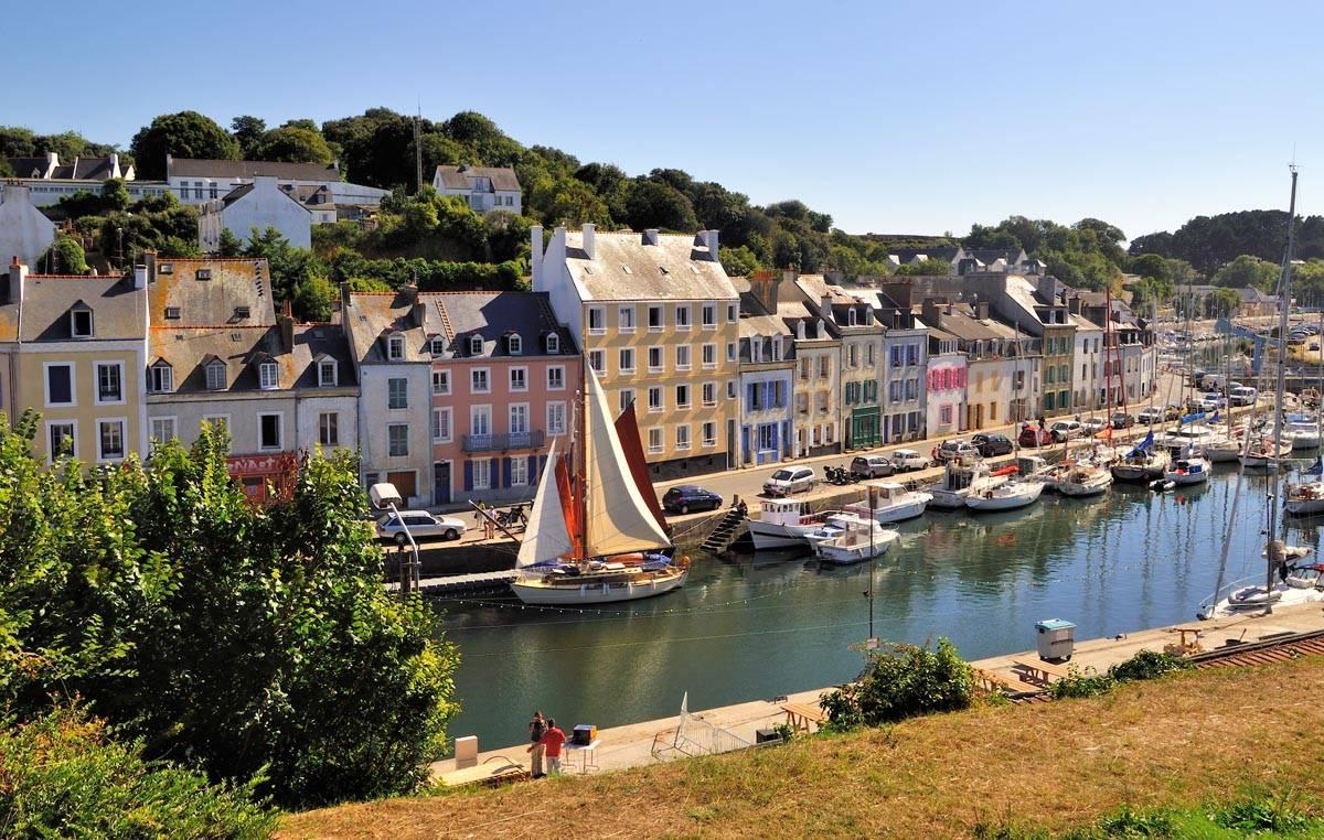 Port de Le Palais, Belle Île en Mer, Morbihan, Bretagne