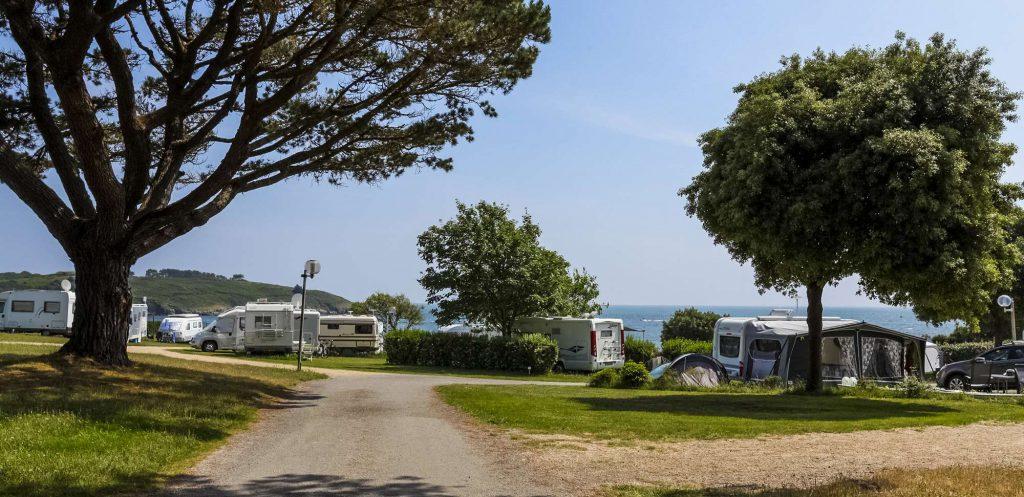 camping au bord de mer dans le Morbihan