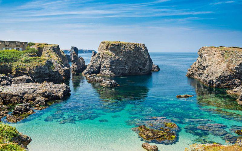 Belle-Ile-en-mer et ses magnifiques criques © Shutterstock