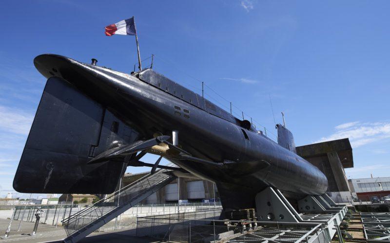 """Le sous-marin """"Le Flore"""" à Lorient © Y. Zedda"""