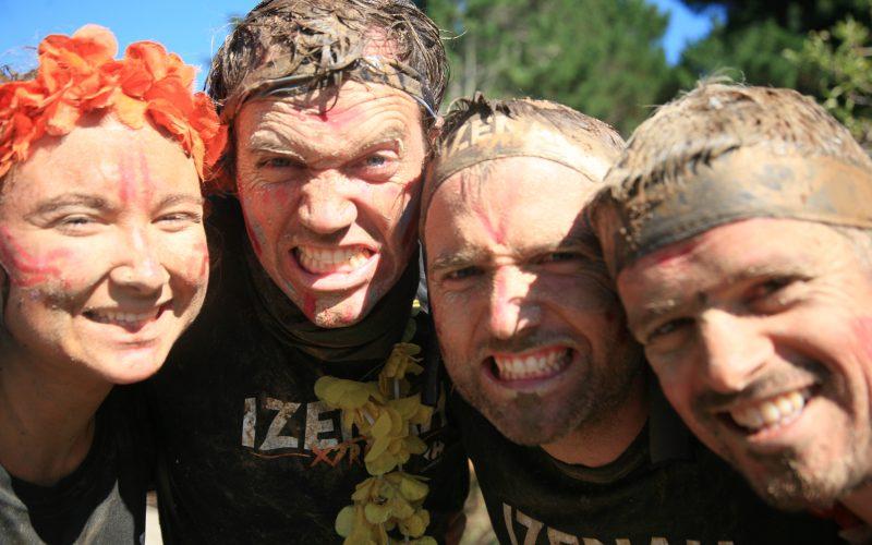 Course à obstacles Izenah Xtrem 2017 sur l'Ile aux Moines