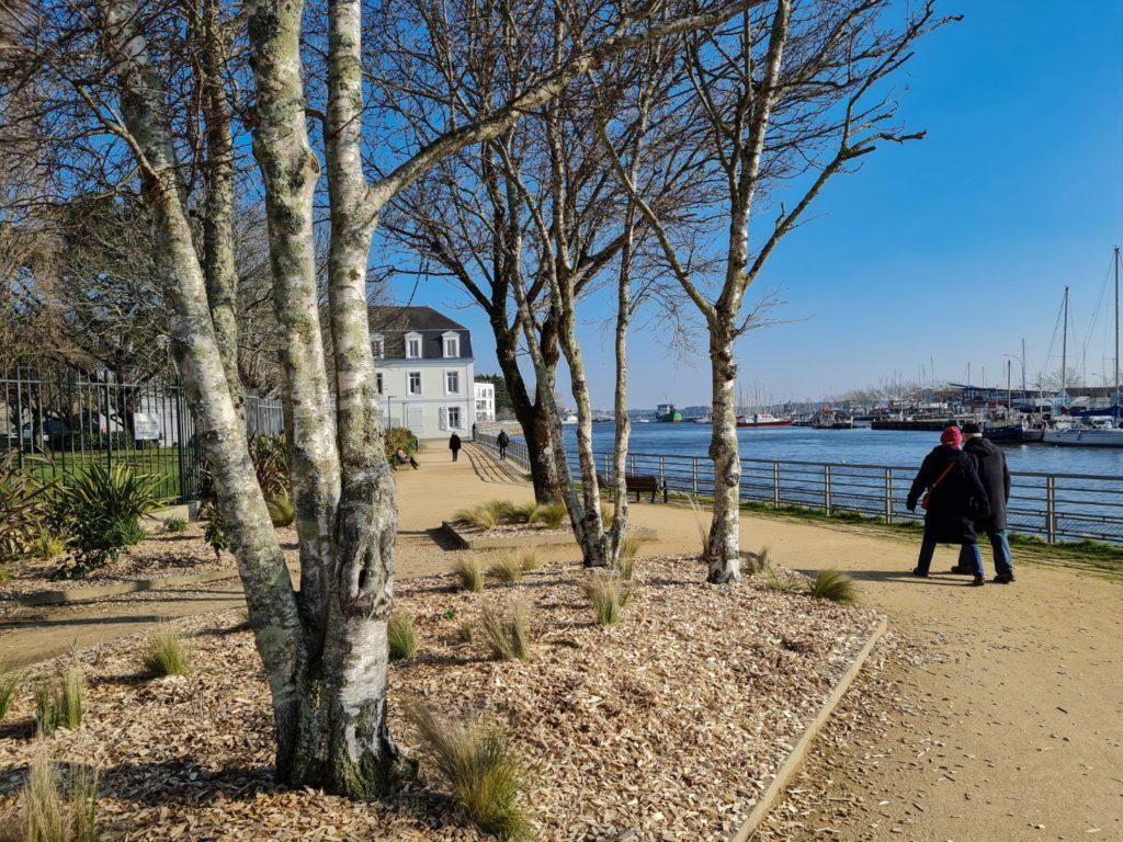 Promenade de la compagnie des Indes © Ville de Lorient