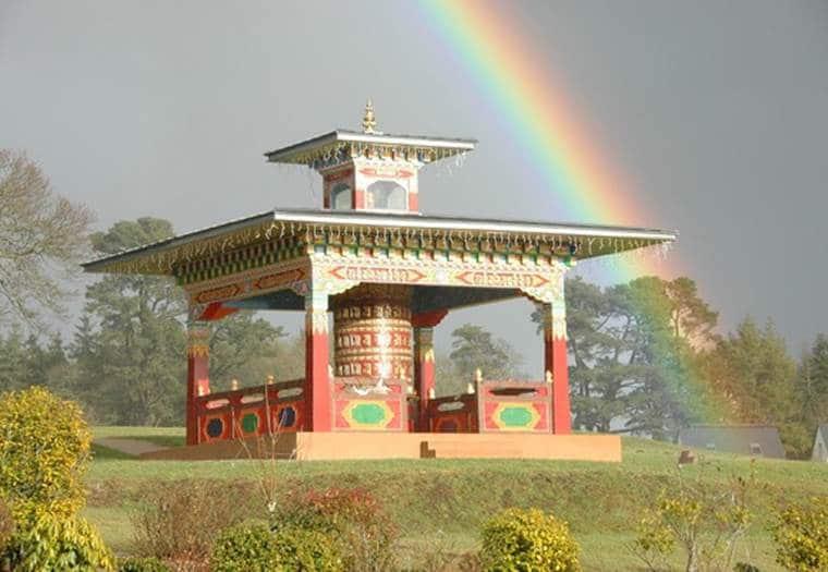 moulin à prière centre bouddhique plouray
