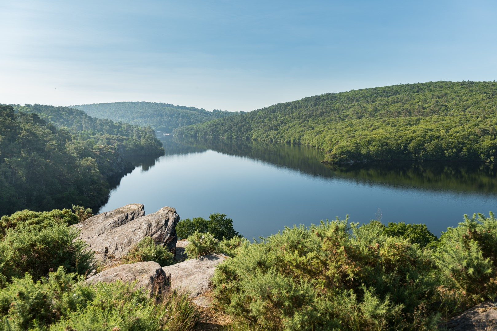 Lac de Guerlédan © E. Berthier