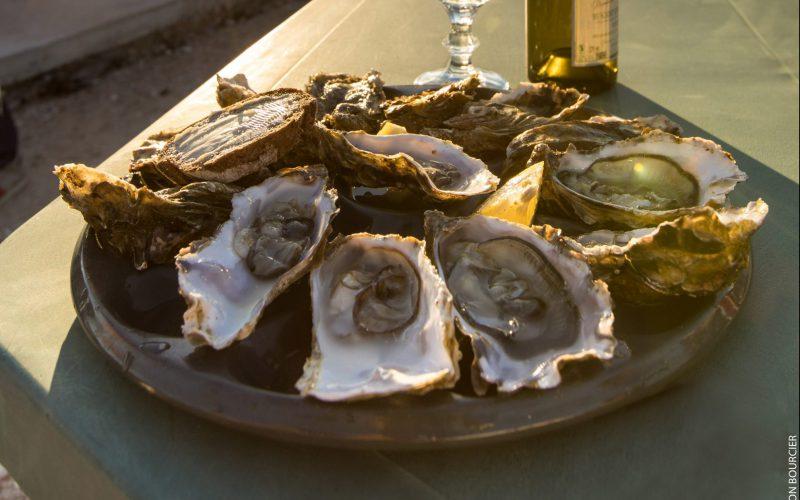 Assiette d'huîtres © S. Bourcier