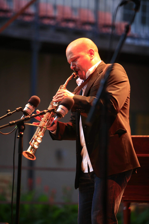 Musicien de jazz à Vannes, concert du festival Jazz en Ville