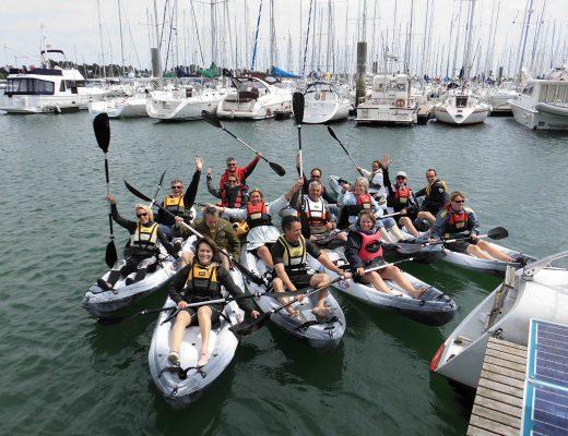 séminaire kayak © Skippage