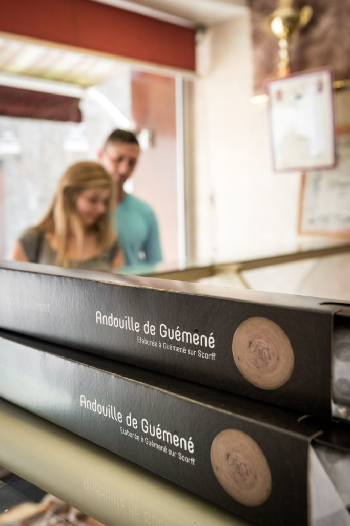 Andouille de Guéméné © E. Berthier