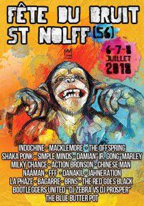 Affiche Festival fête du Bruit