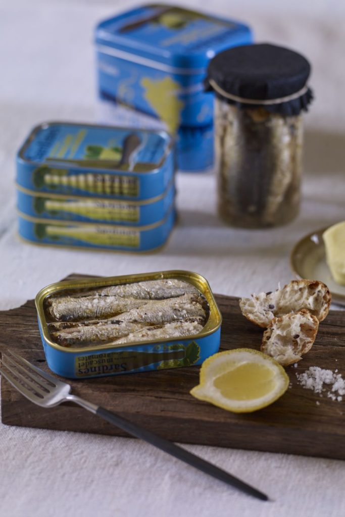 Conserves Sardines © G. Le Boulicaud
