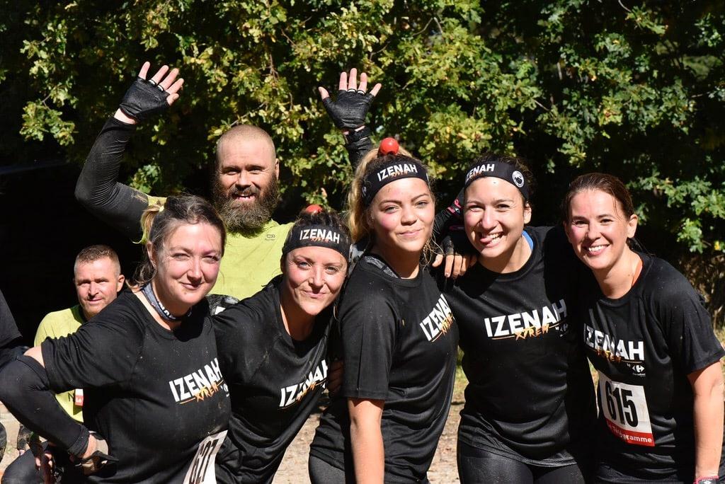 Participants à la course Izenah Xtrem 2017