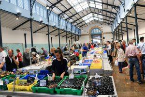 Halle aux poissons, Vannes © L. Kersuzan - Morbihan Tourisme