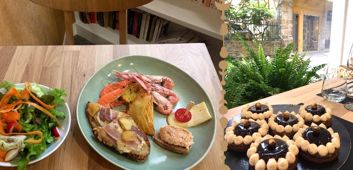 Plats salés et pâtisseries maison au Café des Orfèvres à Vannes