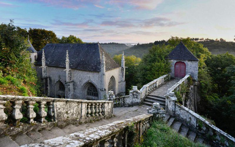 La chapelle Sainte-Barbe Le Faouët
