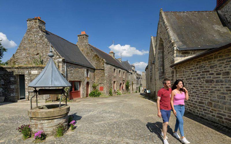 Village pittoresque de Lizio dans le Morbihan