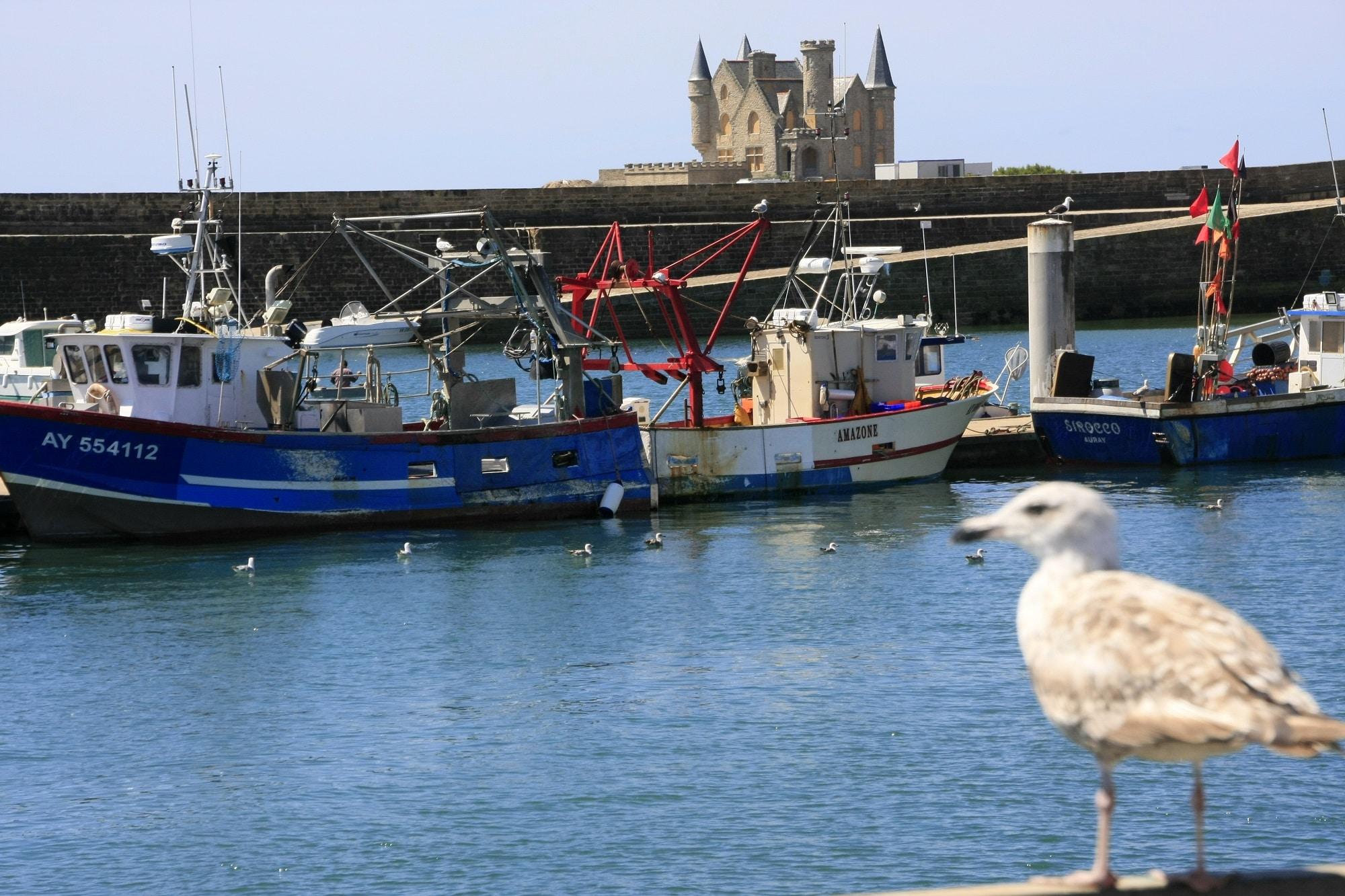 Les bateaux de Port Maria