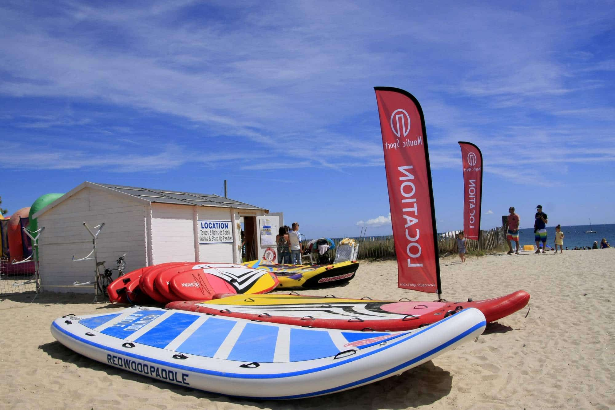 Paddle sur la Baie de Quiberon