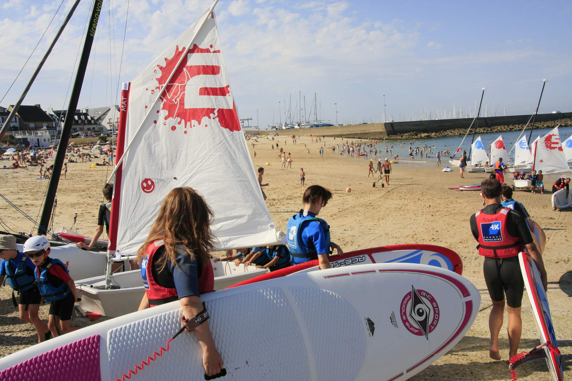 Balade en stand up paddle dans le Morbihan