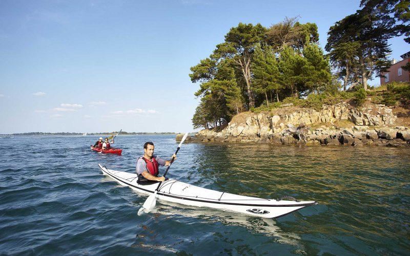 Kayak sur le Golfe