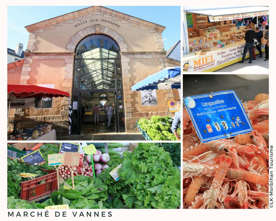 Les couleurs et saveurs du marché de Vannes ©LK-Morbihan Tourisme