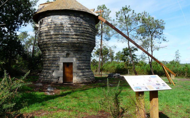 Moulin de la vieille ville à Saint-Jacut-les-Pins © Office de tourisme pays de redon