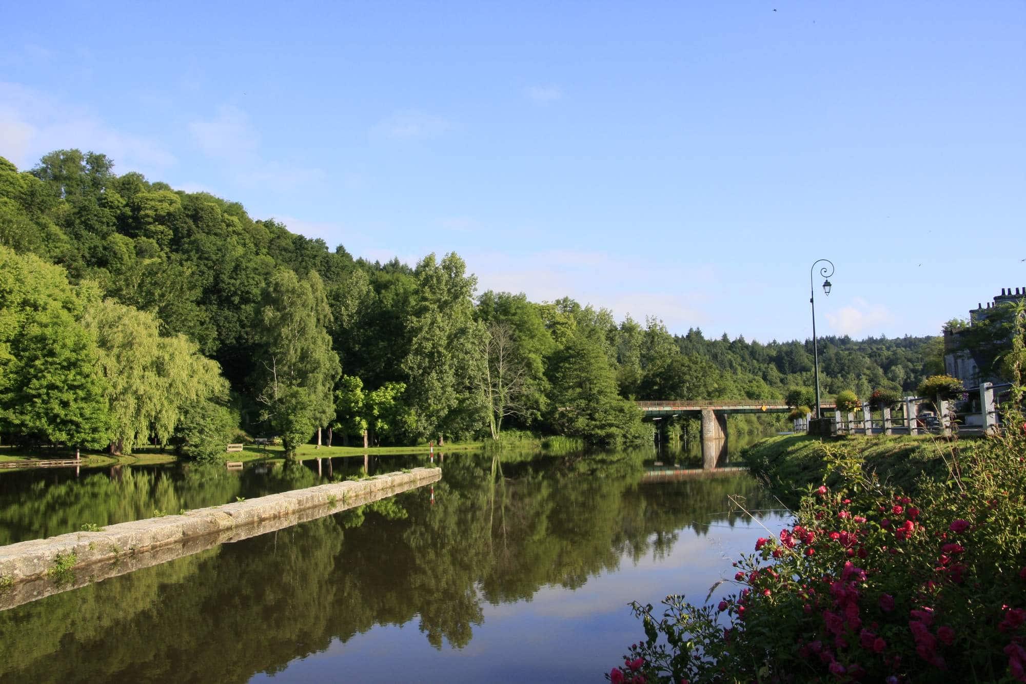 Vallée du Blavet à Saint-Nicolas-des-Eaux