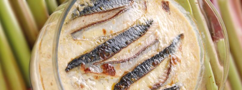 Recette bretonne-filets de maquereau braisés à la rhubarbe par Nathalie Beauvais