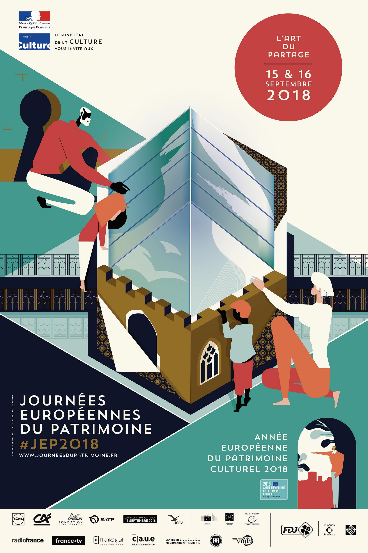 Les journées européennes du patrimoine dans le Morbihan © L'Atelier Cartographik