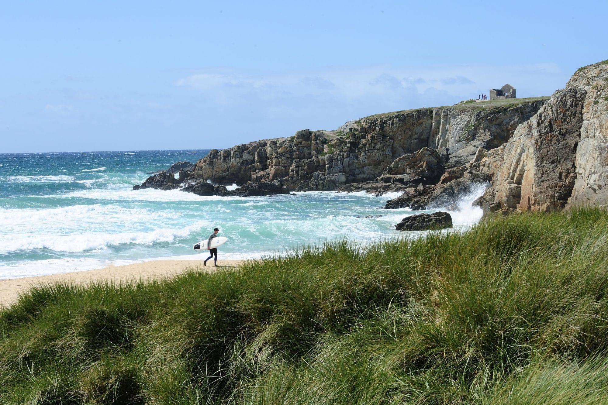 Quiberon côte sauvage surf