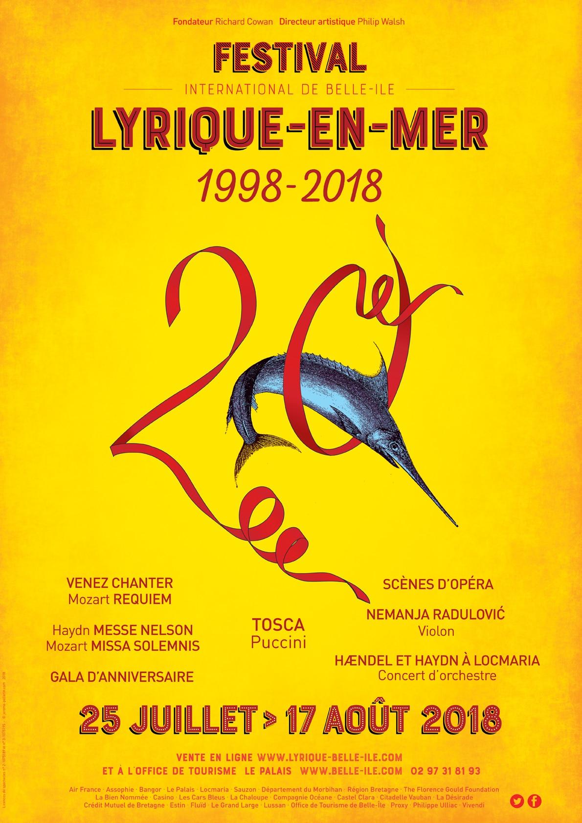 20e édition du Festival Lyrique à Belle Ile en mer