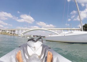Kayak en rivière de Crac'h