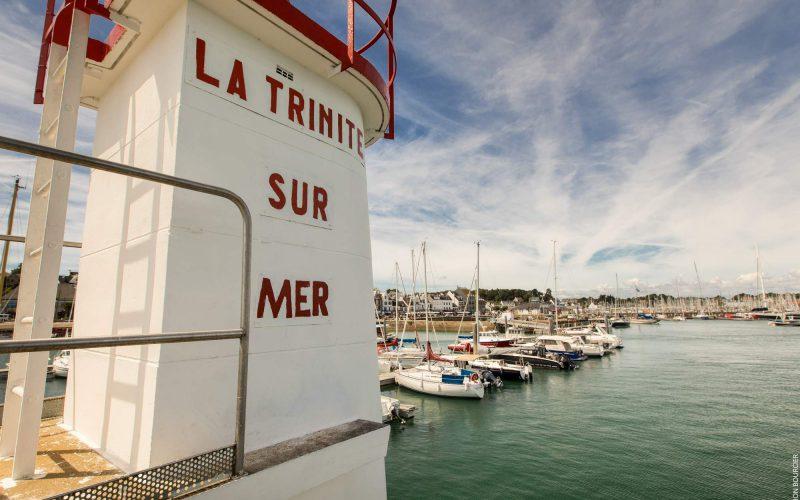 La Trinité-sur-Mer et son port connu de tous © Simon BOURCIER - Morbihan Tourisme