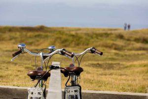 Vélo en bord de mer © S. BOURCIER