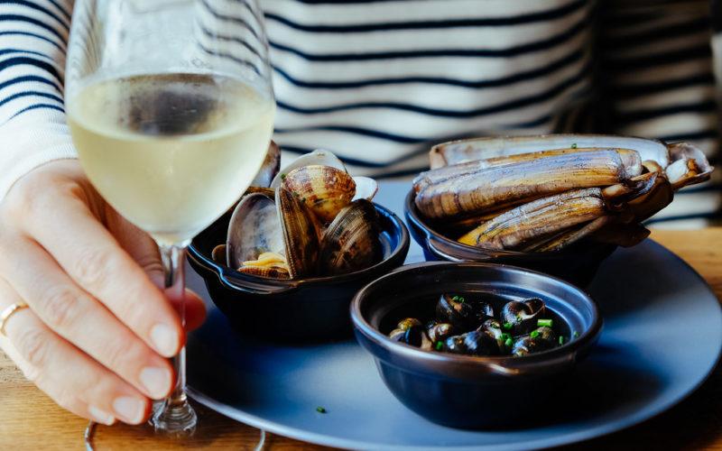 Bigorneaux et autres fruits de mer © Stijn
