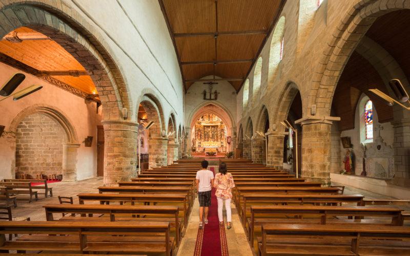 Eglise de la Trinité Porhoët © E. Berthier