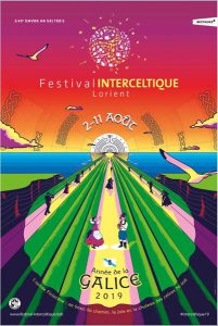 Affiche Festival Interceltique Lorient