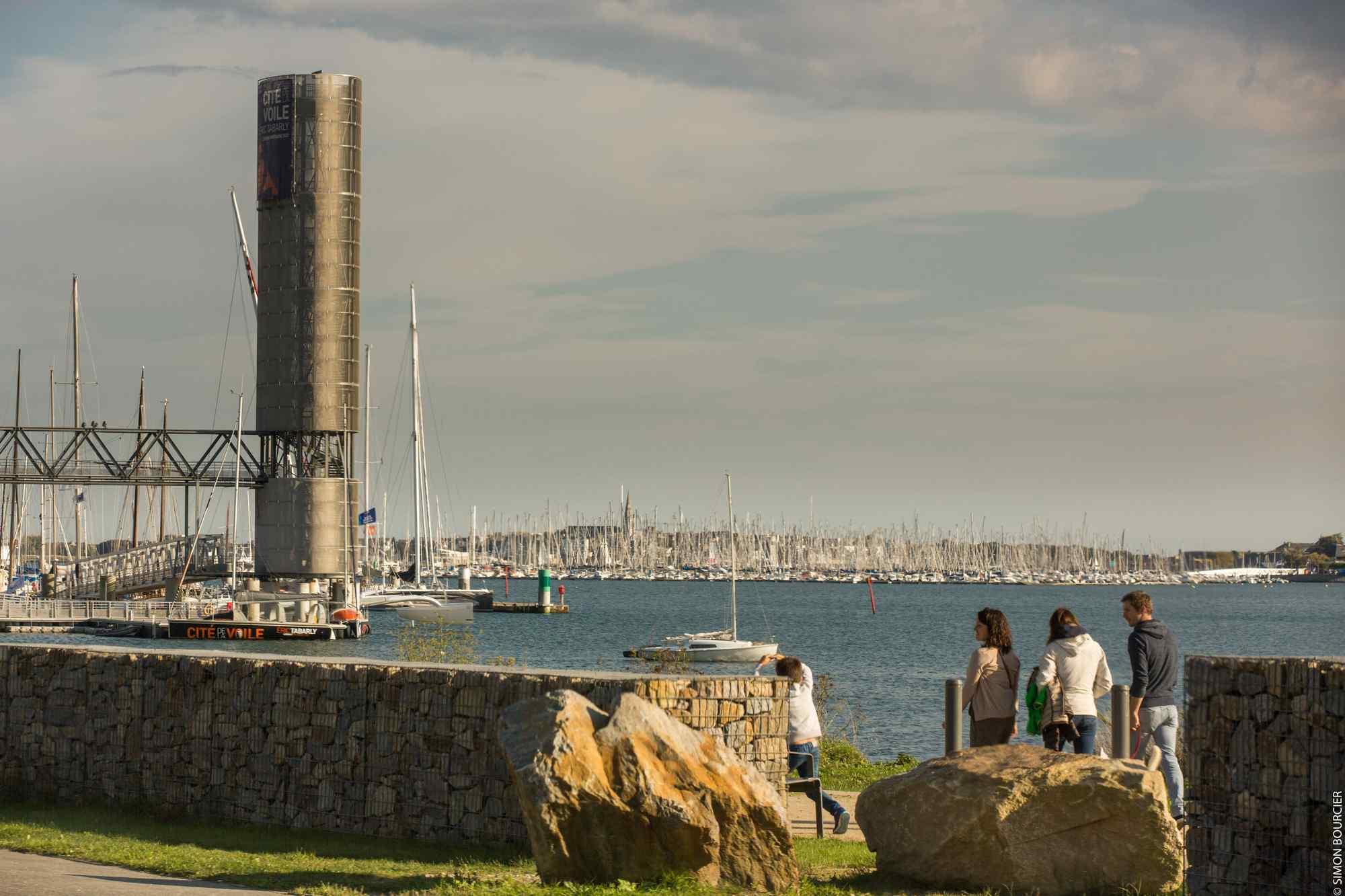Balade à pieds à Lorient-Morbihan Bretagne Sud