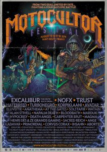 Affiche Festival Motocultor