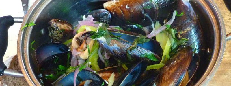 Recette bretonne, fruits de mer-cuisiner les moules de Pénestin façon moules marinières